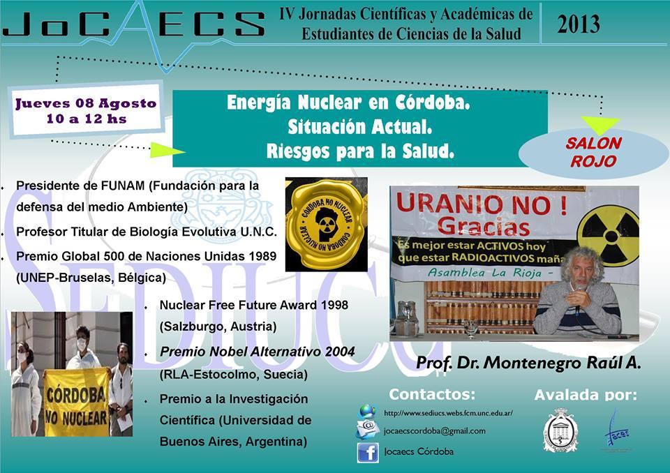 Dicertante Prof. Dr. Montenegro, Raúl A.