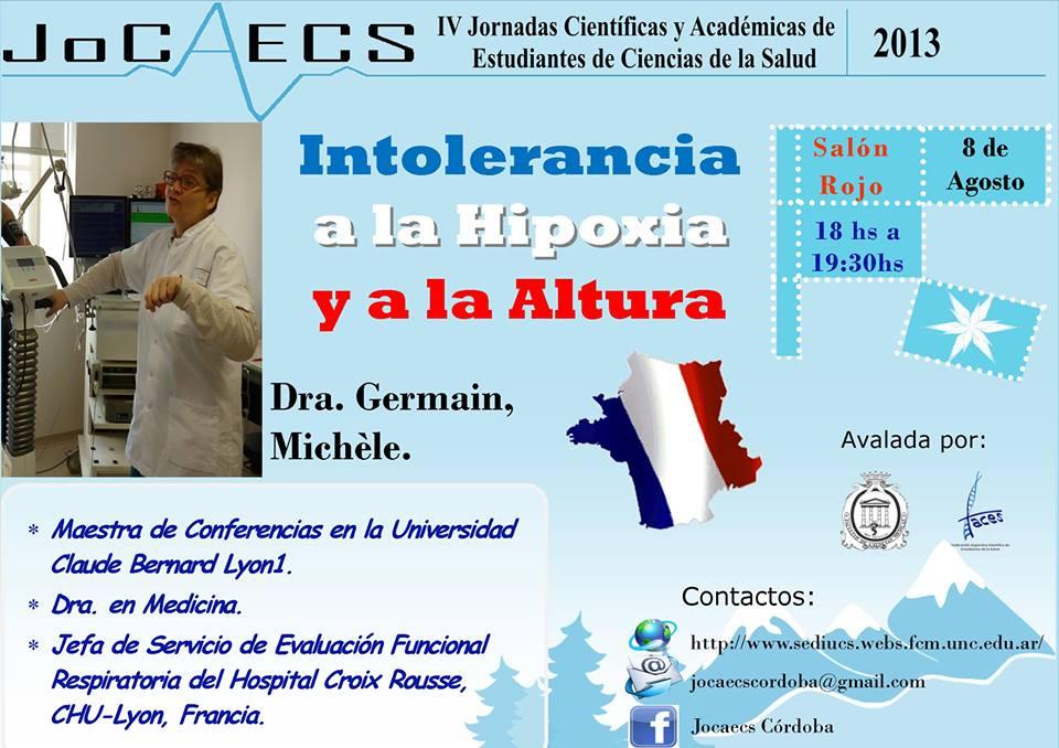 Conferencia Intolerancia a la Hipoxia