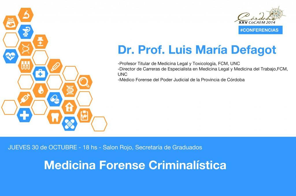 DEFAGOT Luis María - F