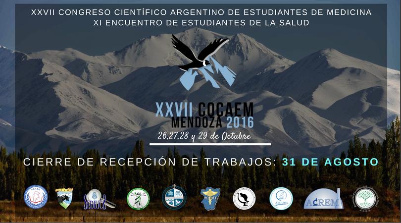 XXVII Congreso Científico Argentino de Estudiantes de medicinaxi encuentro de estudiantes de la salud